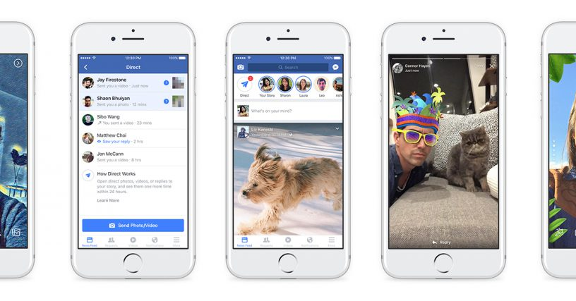 Lookout Facebook Stories, you're about to become a little more relevant…maybe.